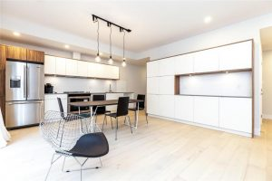 modern kitchen upgraded