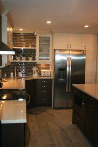 modern updated kitchen