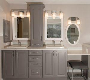 bathroom cabinet reno