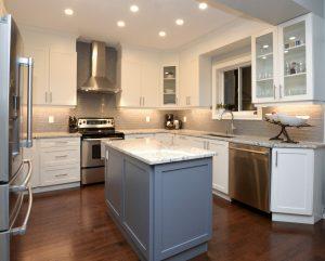 modern kitchen renovation after image