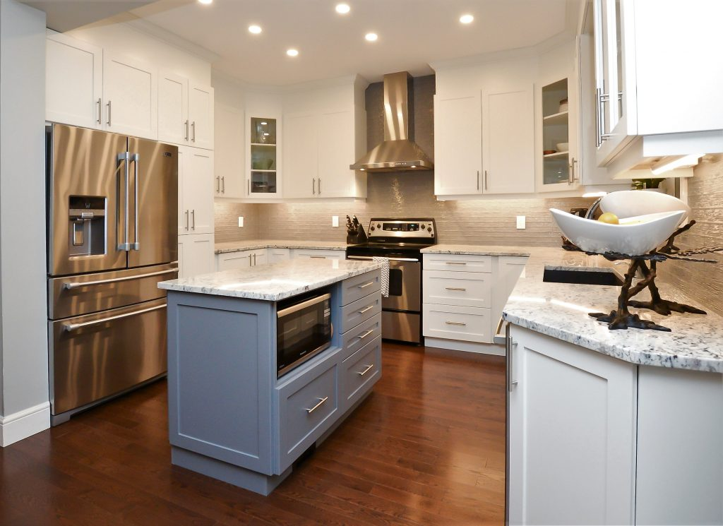after image of kitchen renovation
