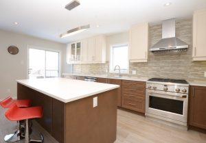 contemporary kitchen redesign