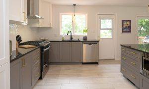 updated kitchen design