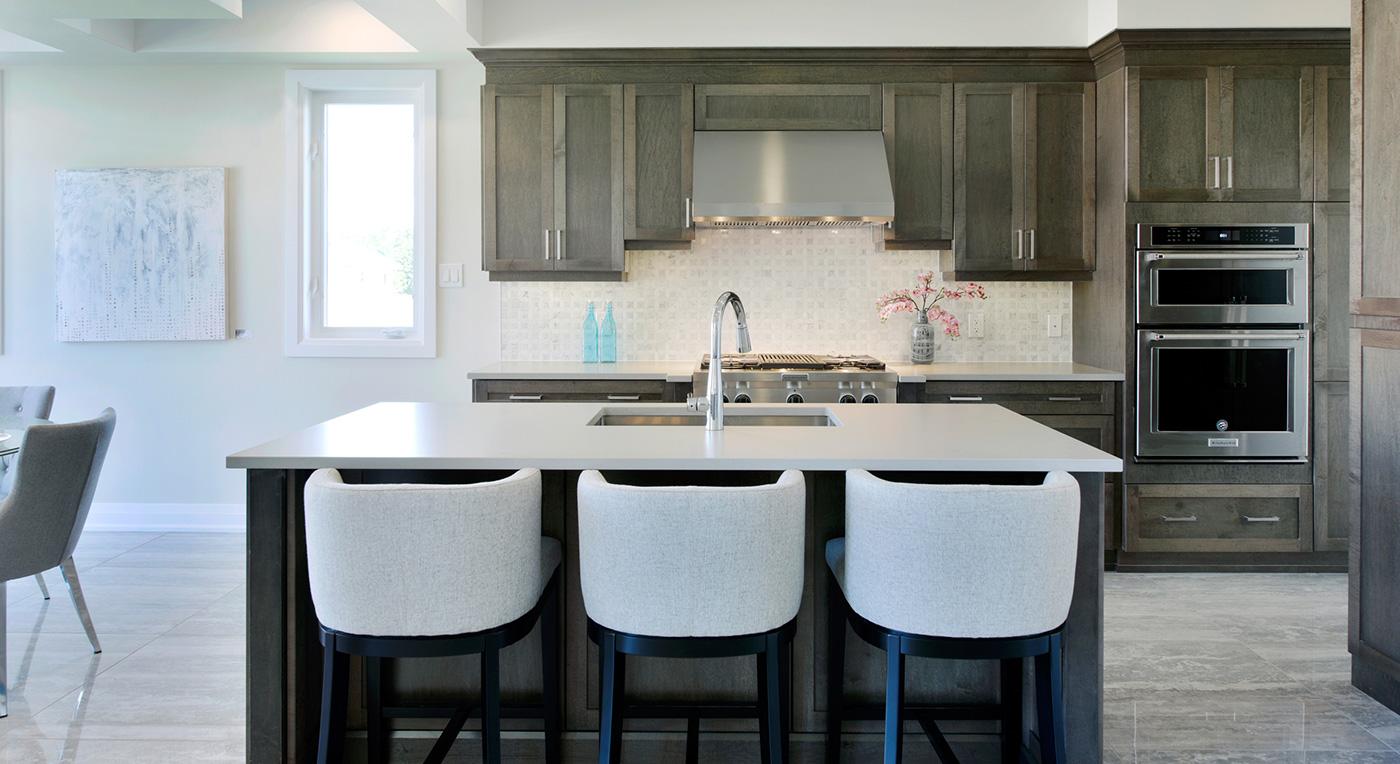 kitchen renos dark cupboards