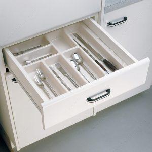 Cutlery divider insert